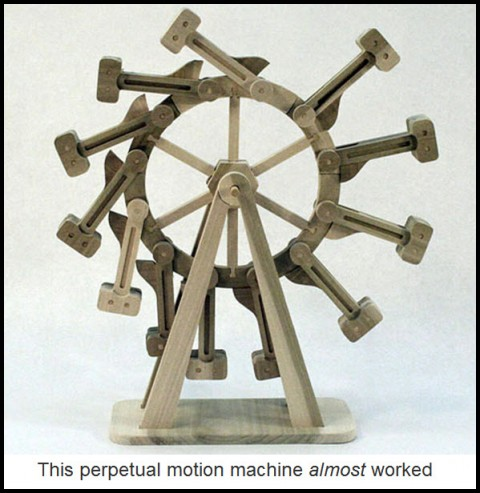 This perpetual motion machine almost worked