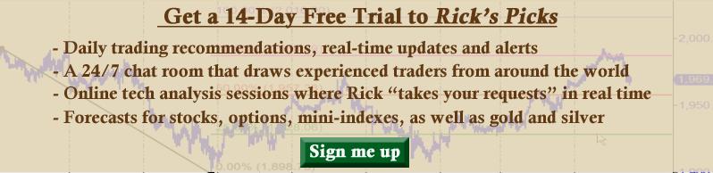 Rick's Picks subscription