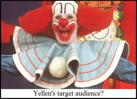 Yellen's target audience